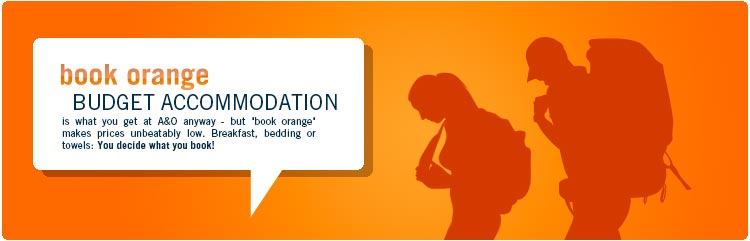 book orange bei A&O